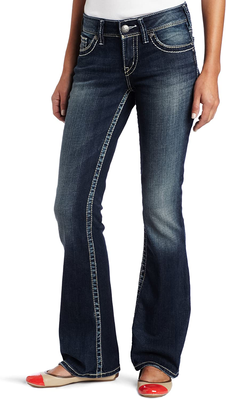 Silver Jeans Women's Suki Midrise Flare Stretch Jean