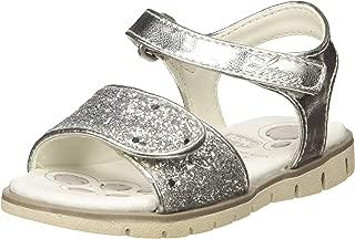 Geox J Sandal Karly Girl Sandali con Cinturino alla Caviglia amazon shoes crema Estate