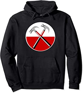 The Merch Wall Hammers Striking Pink Hammer Awl Gift Floyd Pullover Hoodie