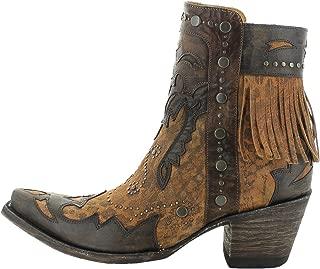 Old Gringo BL3106-2 Moira Ochre Leopard Fringe Boots