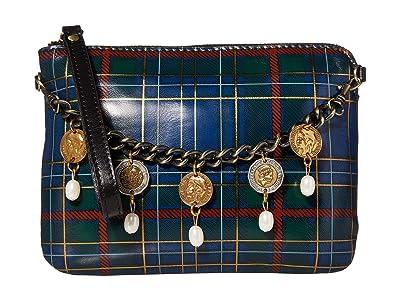 Patricia Nash Cassini Wristlet (Blue/Green Tartan) Wristlet Handbags