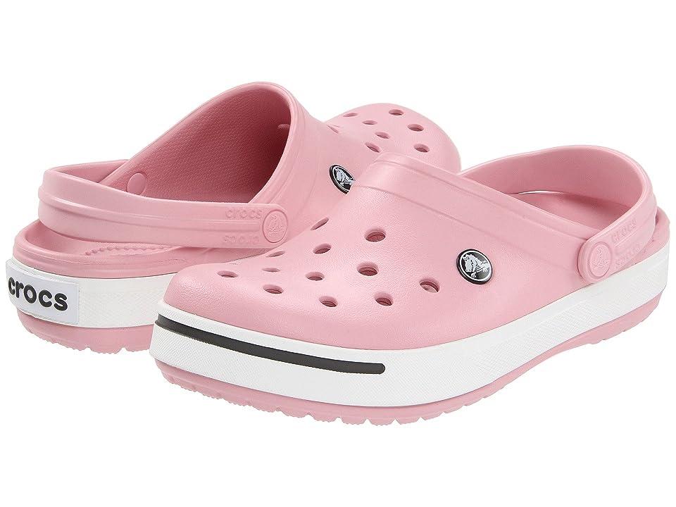 Crocs Crocband II Clog (Petal Pink/Graphite) Shoes