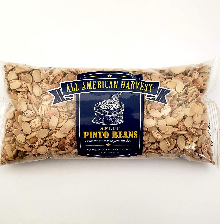 All American Harvest Split Pinto Beans Pi Quality - Department Regular discount store Dry Premium