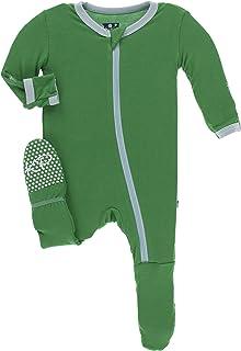 Kickee Pants Bamboo Footie with Zipper