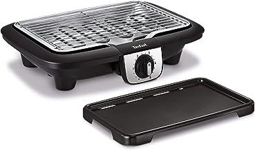 Tefal Easy Grill 2en1 Barbecue électrique de table, Plaque plancha inclus, Puissant 2100 W, Jusqu'à 2 fois moins de fumée ...