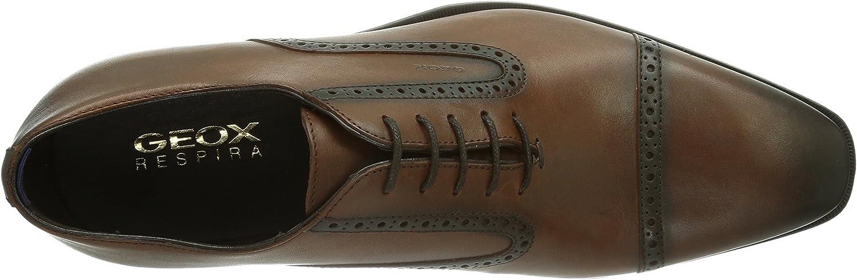 Geox Men's U New Life Wing Tip Oxford Dress Shoe