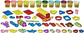 مجموعه 47 تکه 47 تکه ای چند نفره بسته نرم افزاری Play-Doh Ultra Fun Factory برای کودکان 3 ساله و بالاتر با 12 رنگ ترکیبی مدل سازی ، هر کدام 3 اونس ، غیر سمی (منحصر به فرد آمازون)