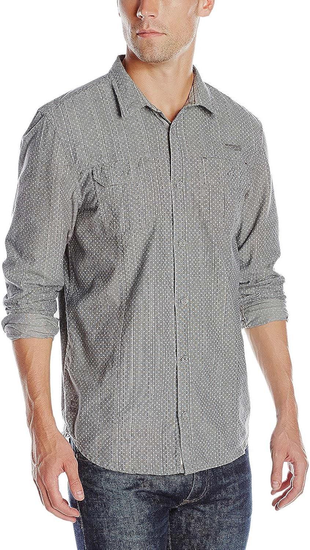 Buffalo David Bitton Men's Siloka Long Sleeve Fashion Button-Down Shirt