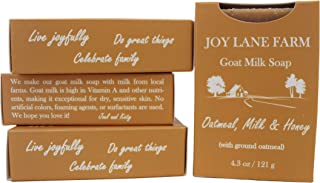 Joy Lane Farm - Goat Milk Soap (Oatmeal, Milk & Honey)