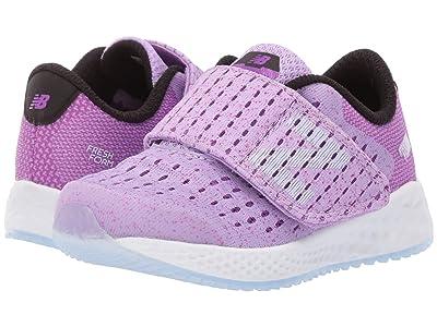 New Balance Kids Fresh Foam Zante Pursuit (Infant/Toddler) (Dark Violet Glo/Black) Girls Shoes