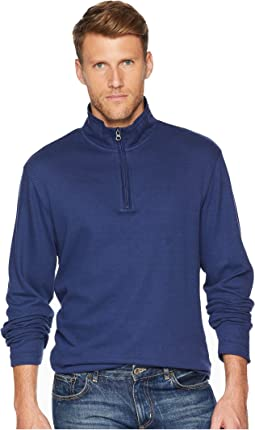 Cotton-Twill 1/4 Zip