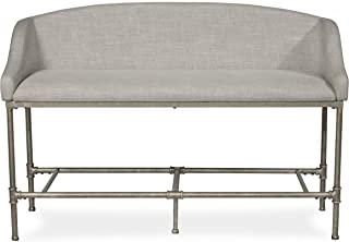 Hillsdale Furniture Dillon Upholstered Upolhstered Counter Height Bench, Pewter