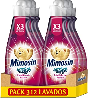 comprar comparacion Mimosín Intense Suavizante Estallido De Pasión 52 Lavados - Pack de 6