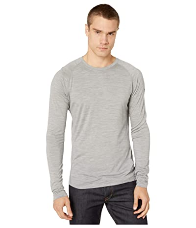 Smartwool Merino 150 Baselayer Long Sleeve (Light Gray Heather) Men