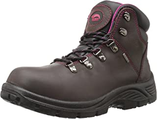 Avenger Safety Footwear Women's Avenger 7675 Leather Waterproof SR EH Hiker Industrial and Construction Shoe