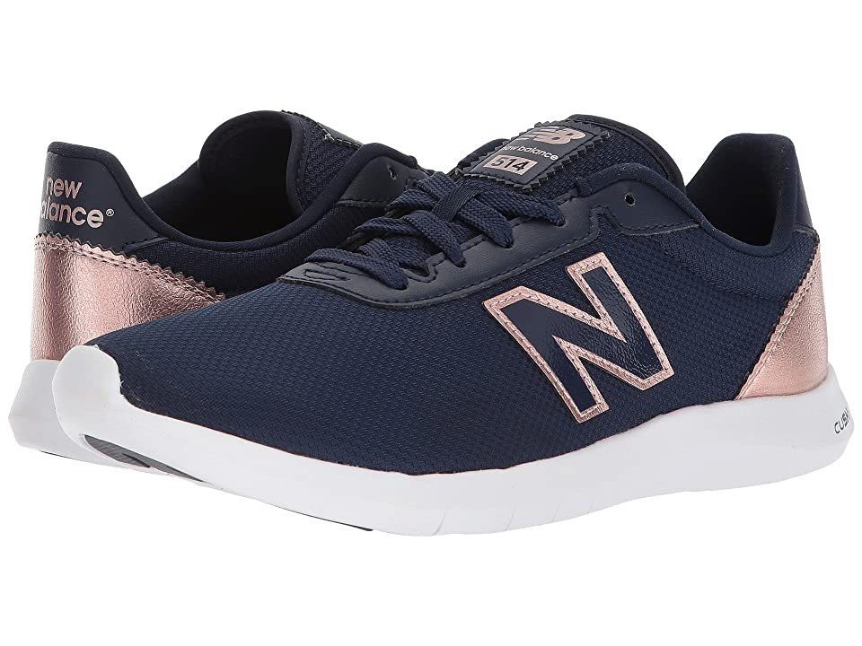 New Balance 514v1 (Pigment/Champagne Metallic) Women