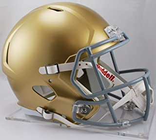 NOTRE DAME FIGHTING IRISH NCAA Riddell SPEED Full Size REPLICA Football Helmet