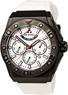 CEO White Dial White Rubber Mens Watch CE5002