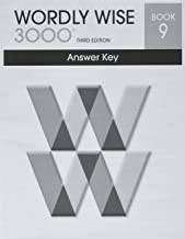Wordly Wise 3000 Book 9 Answer Key  Booklet (Systematic Academic Vocabulary Development)