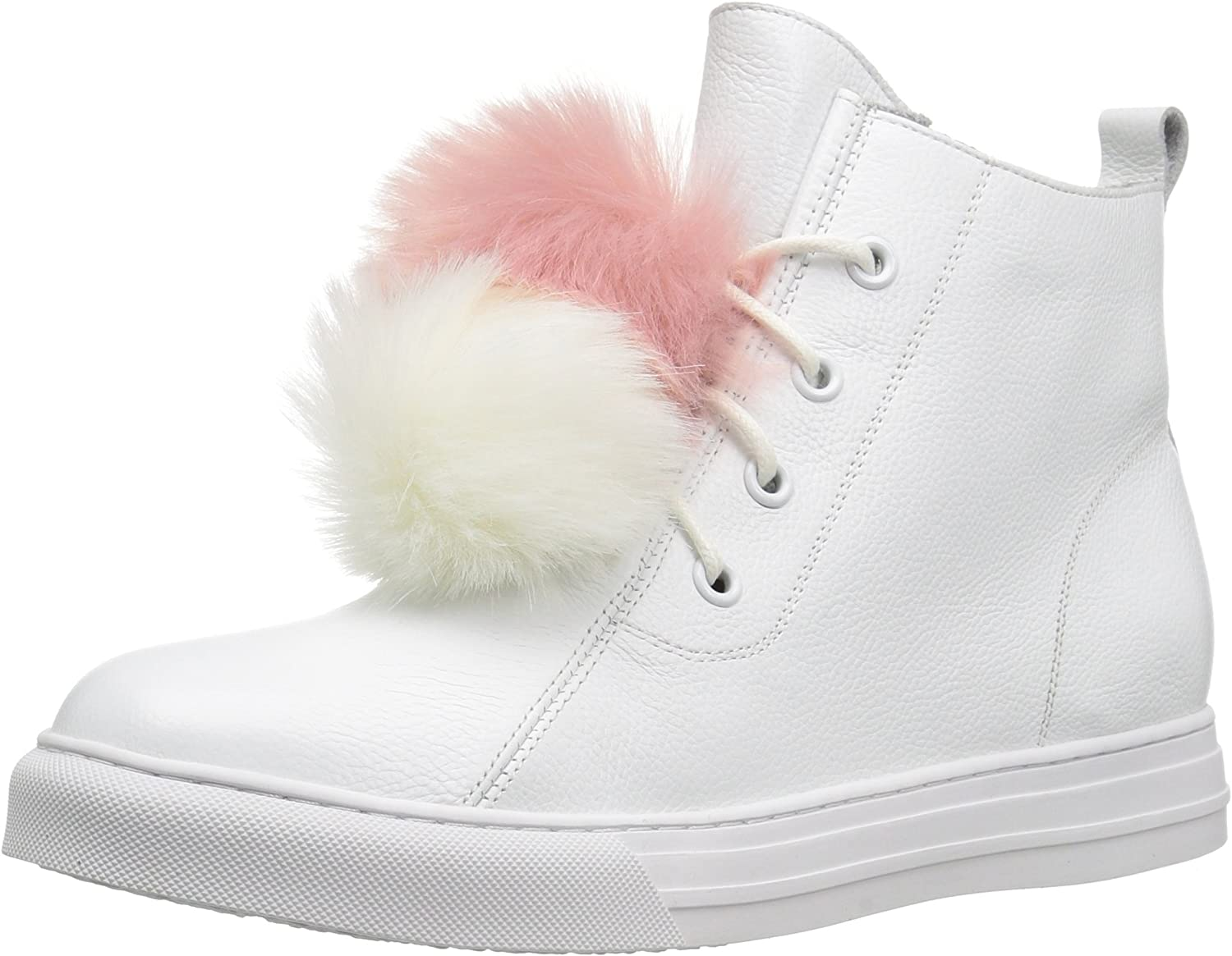 Dirty Laundry Women's Fur Ever Leather Fashion Sneakers