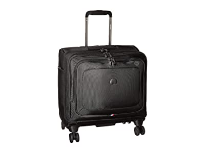 Delsey Cruise Lite Softside Spinner Tote Bag (Black) Luggage