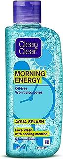 Clean & Clear Morning Energy Aqua Splash Face Wash, 150 ml