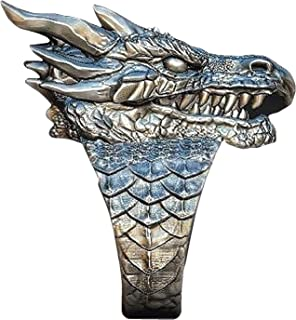 PikaLF Dragon Ring for Men, Vintage Dragon Head Ring, Retro Domineering Dragon Rings, Amulet Ring, Punk Animal Dragon Jewe...