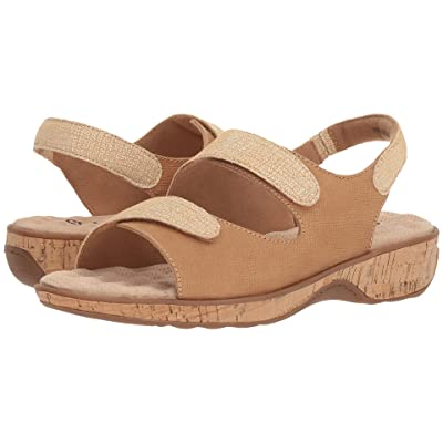 SoftWalk Bolivia (Sand Embossed Leather) Women
