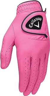 womens pink golf glove