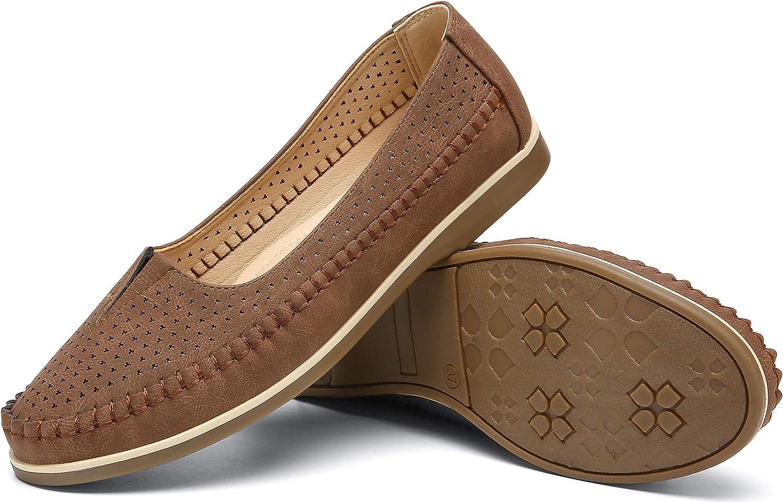 katliu Ranking TOP13 Women Comfort Loafers Minneapolis Mall Flat Shoes Leather Faux Sho on Slip