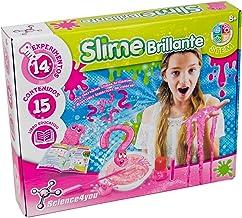 Science4you-Slime Slime Brillante Juguete Científico y Educativo para Niños +8 Años, Multicolor (5600983615076)