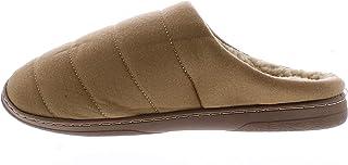 Revo Footwear Abe 男士家居鞋,保暖毛皮衬里冬季室内拖鞋