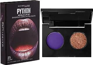 Maybelline New York Lip Studio Python Metallic Lip Makeup Kit, Valiant, 0.09 oz.