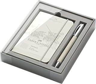 Faber-Castell Opart 149614 White Sand Promo Set Ambition with Ballpoint Pen