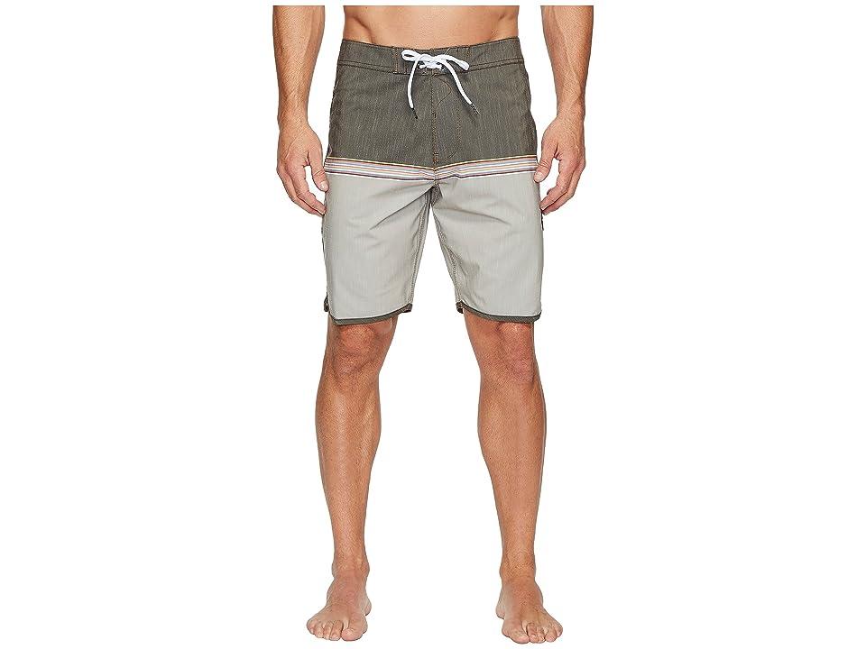 VISSLA Dredges Four-Way Stretch Boardshorts 20 (Java) Men
