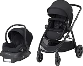 Maxi-Cosi Zelia 5-In-1 Modular Travel System, Night Black, One Size