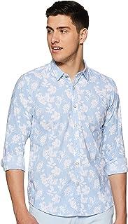 Pepe Jeans Men's Floral Regular fit Casual Shirt