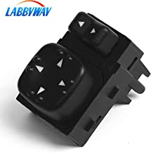 LABBYWAY Replaces OE#15045085 19259975,Power Mirror Switch for - 901124 for Chevy Silverado GMC Sierra 2000 2001 2002 Mirror Switch