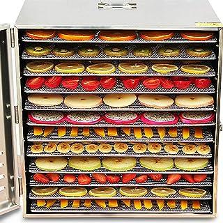 Food dehydrator 12 Tier Food Dehydrator Digital Food Dryer, Fruit And Vegetable Pet Meat Food Dryer, for Herb, Scented Te...