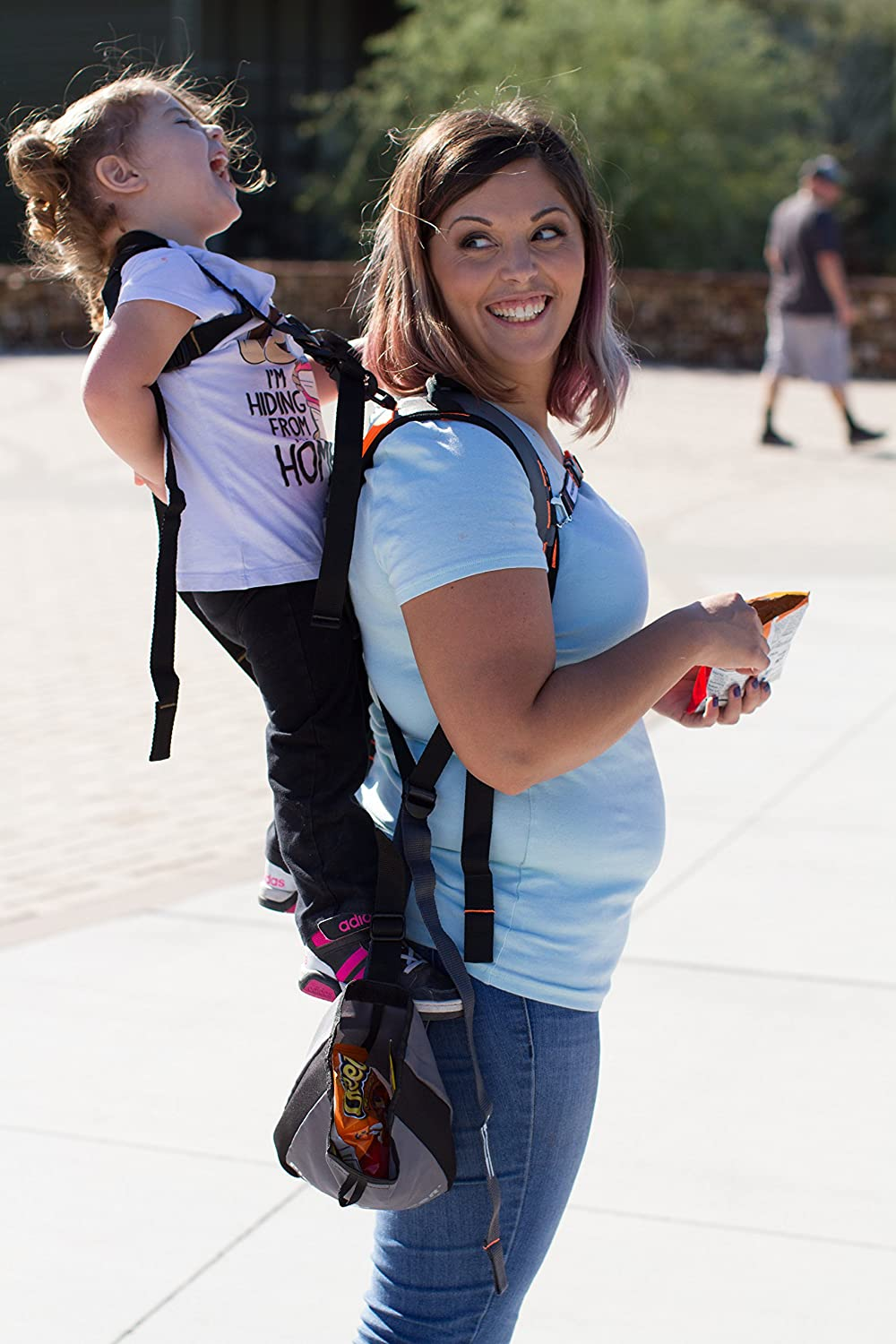 Piggyback Rider Child Safety Harness - use for Replacement or Spare - for Hiking, Parks, Travel, Events, Amusement Parks, Festival, Concerts, Grocery Stores