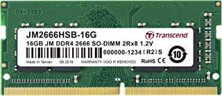TRANSCEND 16GB DDR4 2666MHz 260-pin SODIMM Laptop RAM [A1PRICE 1APRODUCTS]