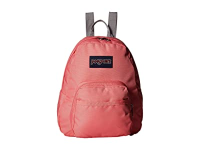 JanSport Half Pint (Strawberry Pink) Backpack Bags