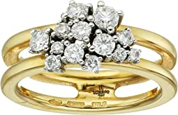 Miseno - Vesuvio 18k Gold Ring with diamonds