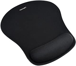 TECKNET Ergonomic Gaming Office Mouse Pad Mat Mousepad with Rest Wrist Support - Non-Slip Rubber Base - Special Textured S...