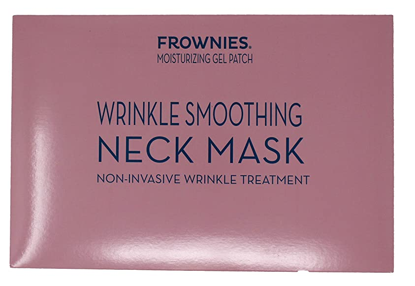 作家流定規フラウニーズ Wrinkle Smoothing Neck Mask - Moisturizing Gel Patch 1sheet並行輸入品