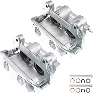 A-Premium Disc Brake Caliper Assembly with Bracket Compatible with Ford Mustang SVT Cobra R 1999-2001 Front Left and Right Side 2-PC Set