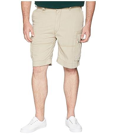 Polo Ralph Lauren Big & Tall Big Tall Vintage Chino Gellar Fatigue Shorts (Hudson Tan) Men