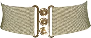 FASHIONGEN - Wide Waist Elasticated Woman Belt Made in France, GLORIA
