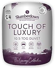 Slumberdown Touch of Luxury Dekbed, microvezel, wit, King Size