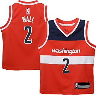 John Wall Washington Wizards #2 Red Infants Toddler Replica Road Jersey